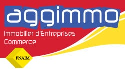 Logo Aggimmo, spécialiste en immobilier d'entreprise sur Montrpellier
